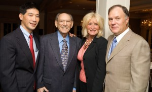 Ken Tanabe, Albert Cohen, Susan Wornick and Bill Leisman at the 2006 annual benefit.
